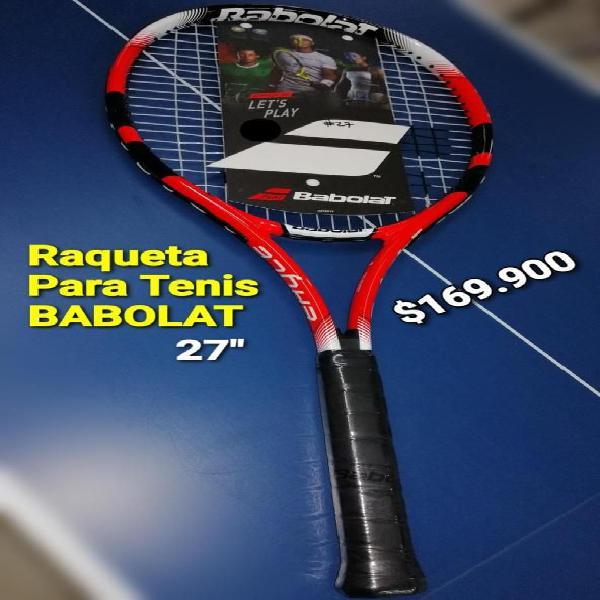 Raqueta para tenis babolat pro 27