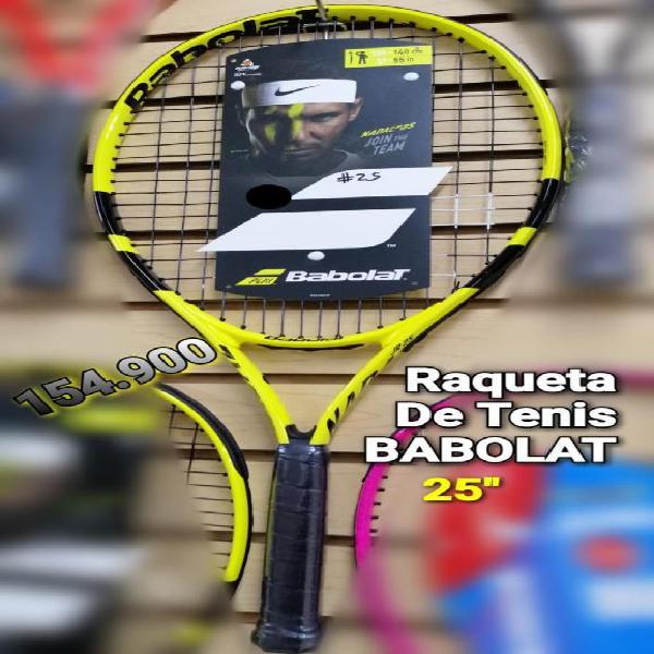 Raqueta tenis babolat pro 25