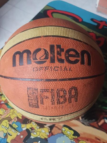 Vendo balon basket molten nro 7 usado