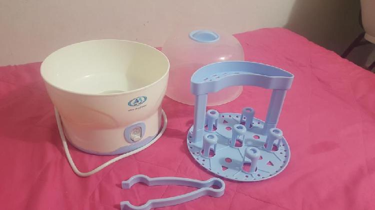 Esterilizador eléctrico para teteros, baby care