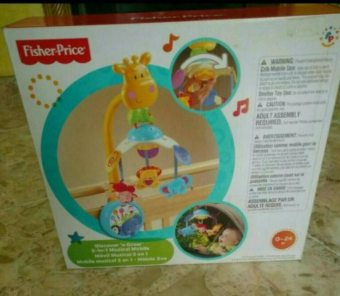 Movil para bebe musical 2 en 1 fisher