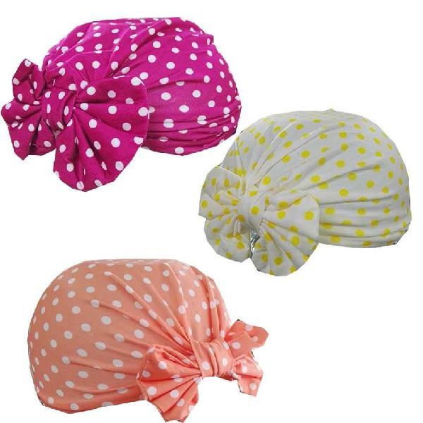 Turbante de pepas para niñas surtido ref1479-4