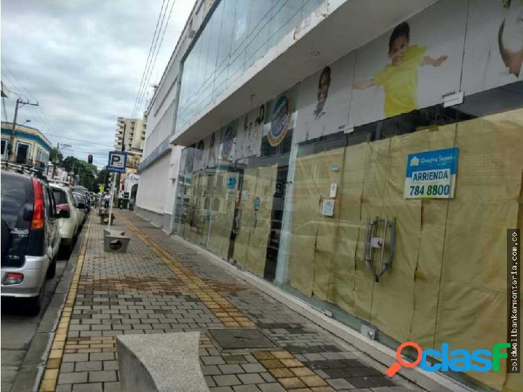 Arriendo local comercial,en barrio de monteria