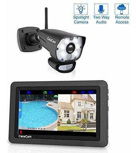 Casacam vs1001 monitor de video monitor con proyector hd res