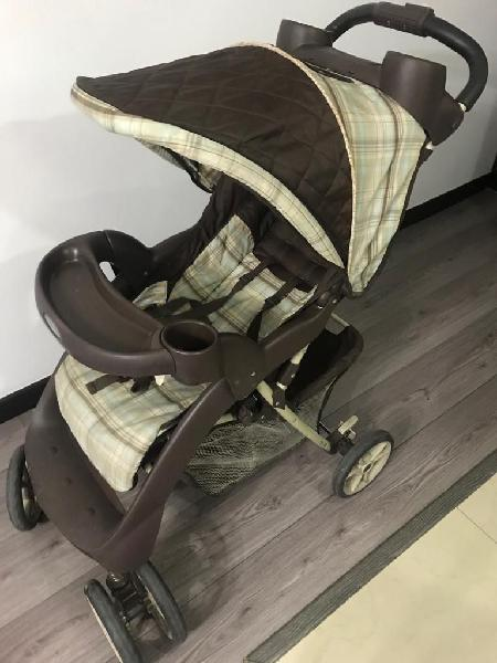 Coche para bebe graco travel alano clasic