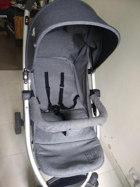 Coche bebé bium gris