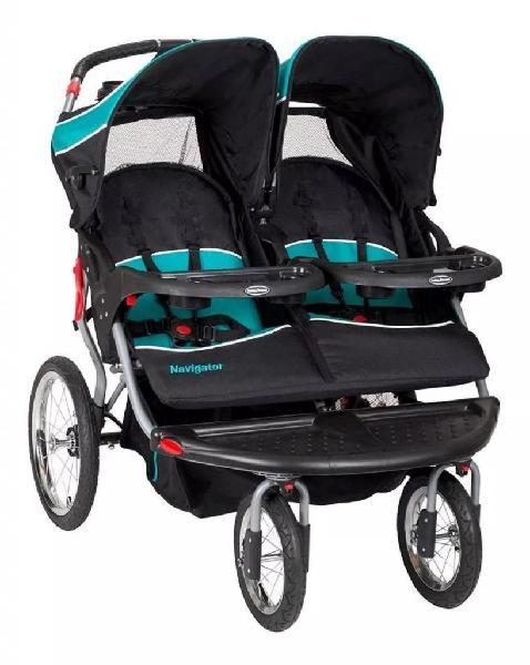 Coche gemelar baby trend navigator baby jogger tropic