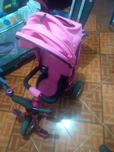 Triciclo bebe niña negociable