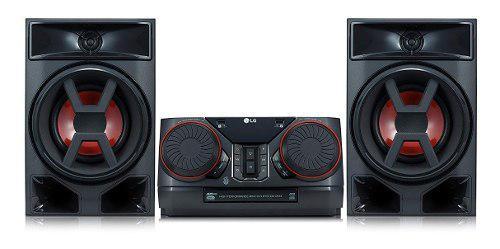 Equipo minicomponente lg ck43 poderoso sonido de 300 watts