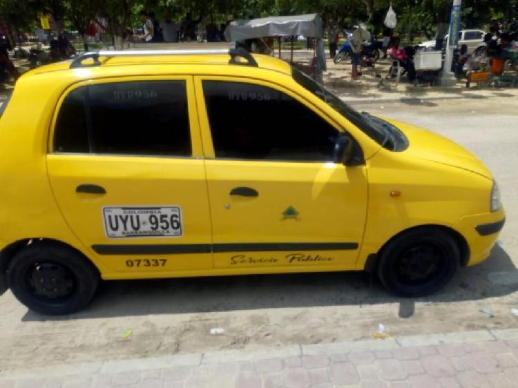 Taxi atos hyundai 2007 excelente estado