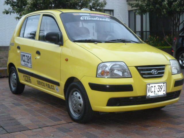 Vendo taxi atos 2006 con aire 315 5586965
