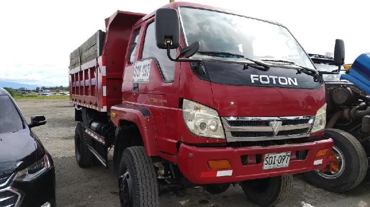 Volqueta Foton 4x4 Modelo 2011 Gangaaaa