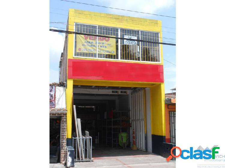 Vendo local de 250 m2 en la benedicta palmira