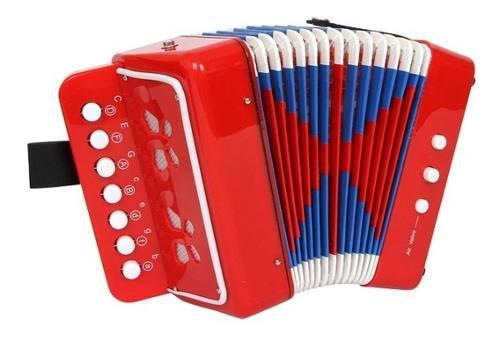 Acordeón Vallenato Para Niños Musical Sonido Real +
