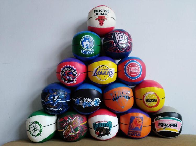 Colección de mini balones de baloncesto de la NBA