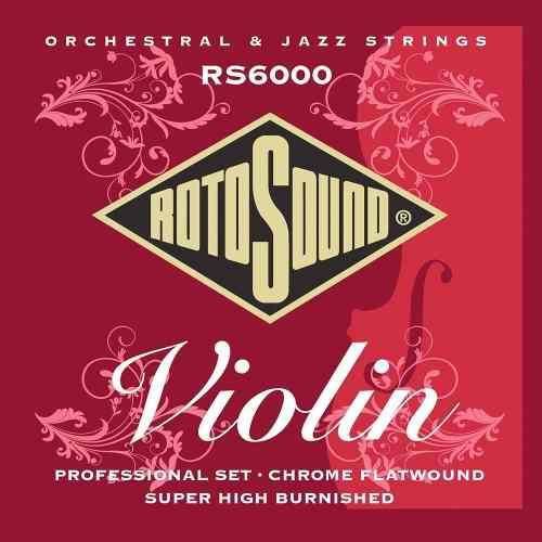 Cuerdas Violin Rotosound Rs6000 Lisas Profesionales Oferta