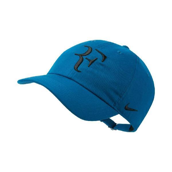 Gorra nike court aerobill heritage 86 rf hat blue original