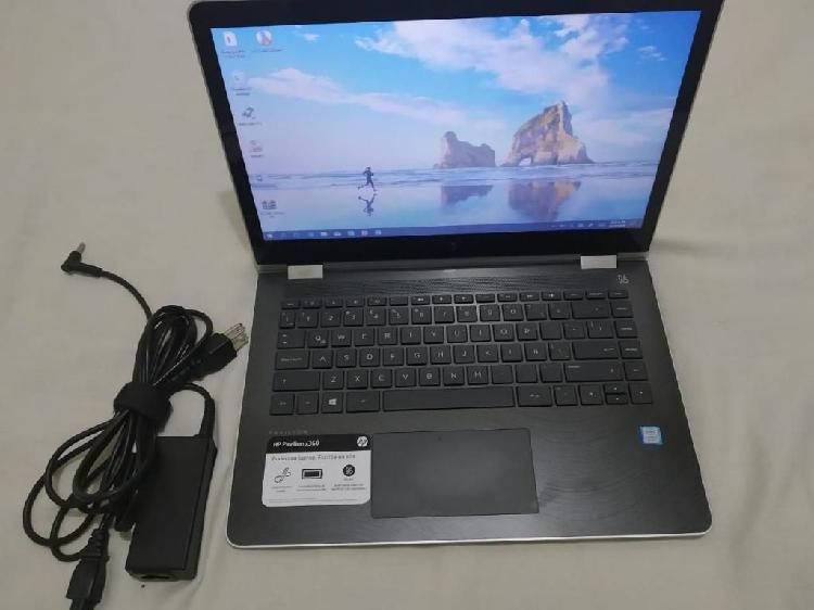 Portátil hp x360 pantalla táctil i3 7gen