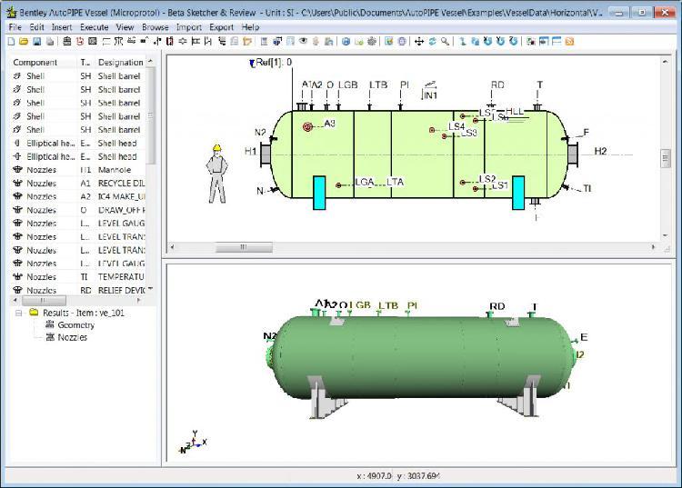 Programa software autopipe 3d diseño analicéis tuberias de