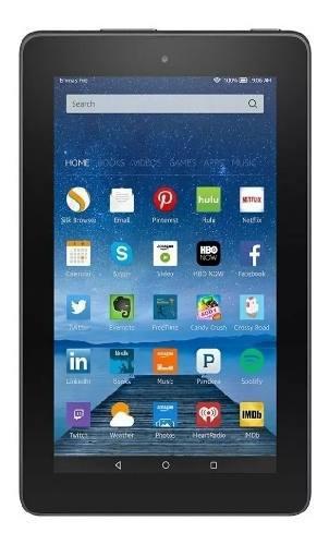 Tablet fire amazon kindle 7 ips 8gb wifi quad core
