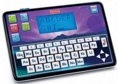 Tablet inteligente fisher-price bilingüe niños niñas