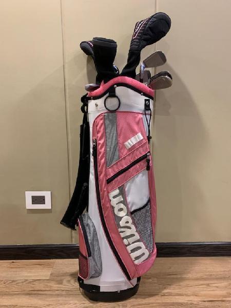 Talega golf wilson, para mujer completa