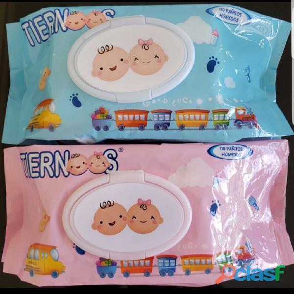 Paquete de pañitos x 120 unidades $ 6.000 paquete