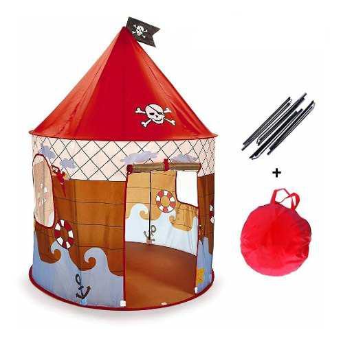 Carpa castillo pirata juguete infantil niño casita