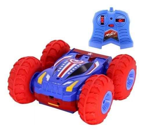 Carro juguete todo terreno llantas inflables control remoto