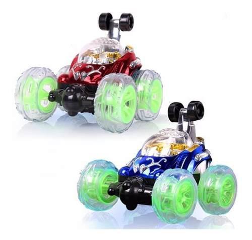 Carro loco recargable control remoto acrobacias 360 juguete