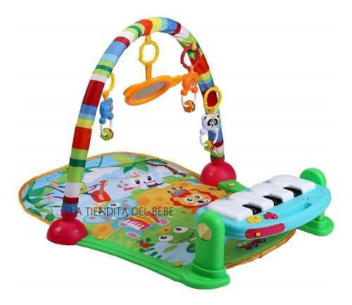 Gimnasio bebe tapete piano estimulación unisex luces oferta