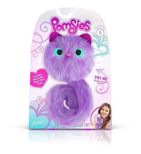Juguete pomsies mascota interactivo peluche niña
