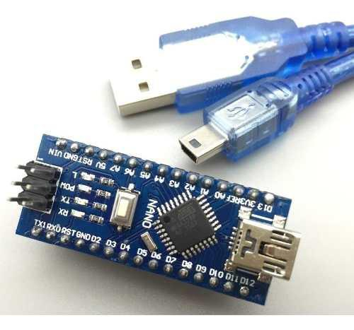 Arduino Nano V3.0 Driver Ch340 + Cable Usb