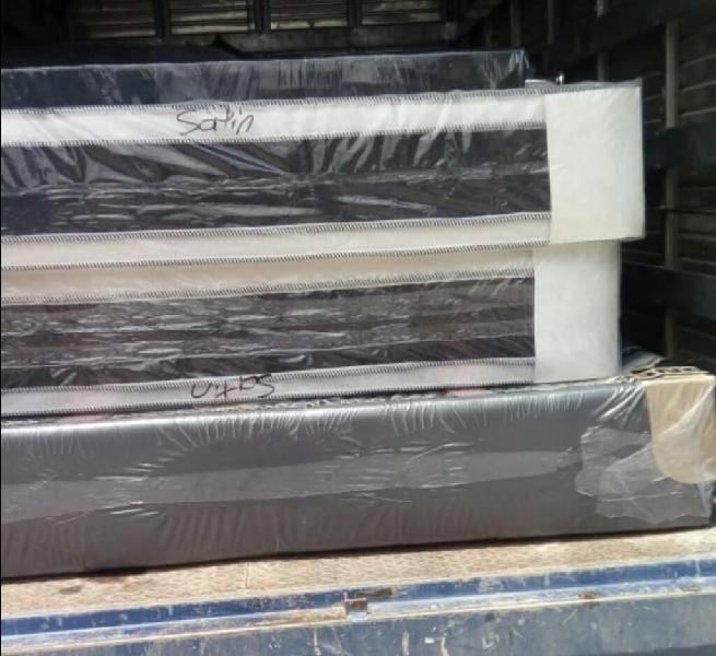 Cama base colchón pillow doble y envío