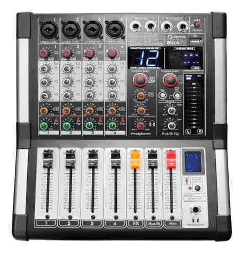 Mixer Mezcladora Consola De Audio 4 Canales Vento Mix4fx