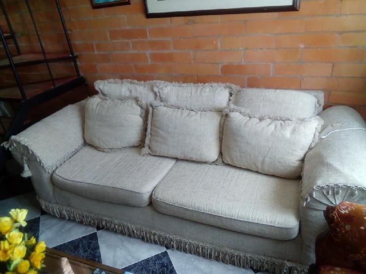 Sofa grande en chenille