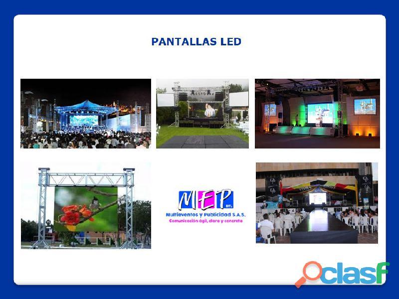Equipos de soportes para la realización de eventos en la costa caribe 16