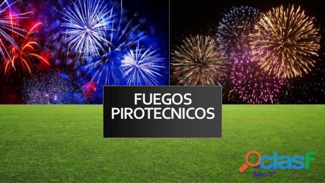 Fabricantes y proveedores de Fuegos artificiales Colombia 15