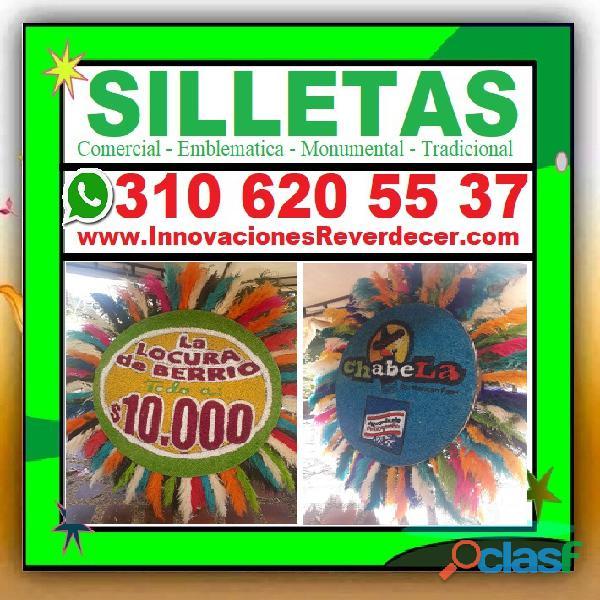 ⭐ SILLETAS MEDELLIN, Silleta, Feria De Las Flores, Desfile De Silleteros, Silleta Comercial, Emblema 3