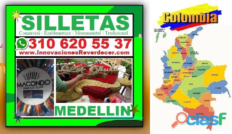 ⭐ SILLETAS MEDELLIN, Silleta, Feria De Las Flores, Desfile De Silleteros, Silleta Comercial, Emblema 4