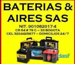 VENTA DE Baterías a domicilio 24 Horas / Bogotá 9
