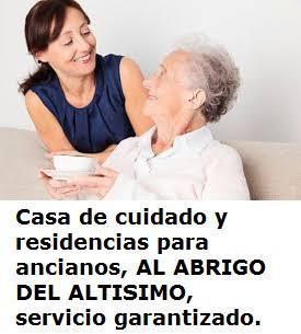 Casa de cuidado y residencias para ancianos, al abrigo del