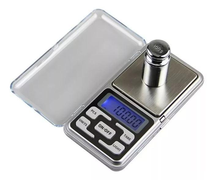 Gramera pesa balanza digital bolsillo joya precisa 0.1 a 500
