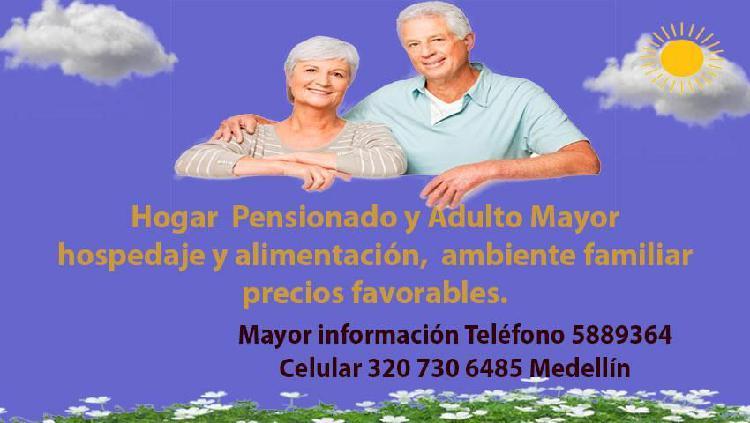 Hogar para pensionado y adulto mayor