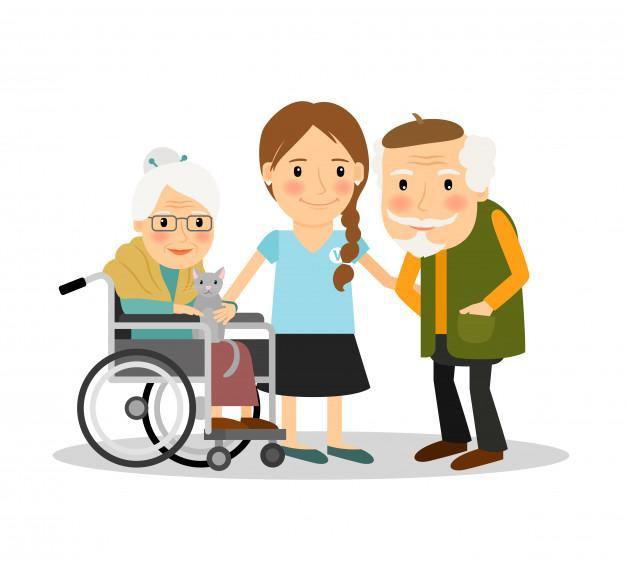 Se cuidan pacientes y adultos mayores