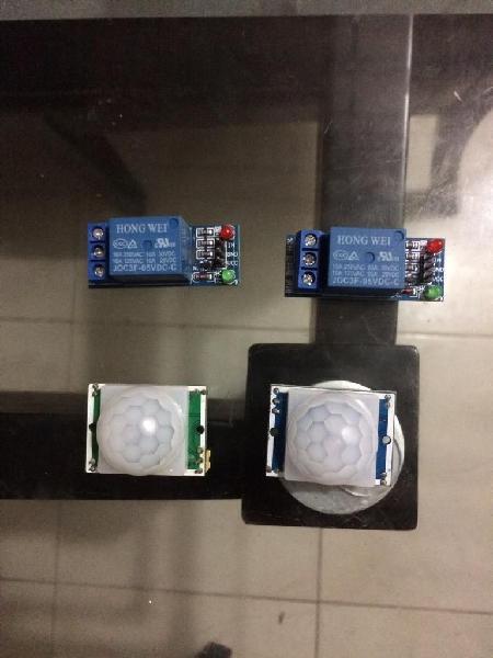 Sensor de movimiento modulos reles