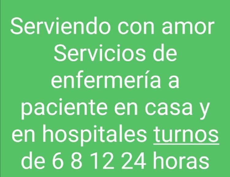 Servicios de enfermería 6, 8, 12, 24