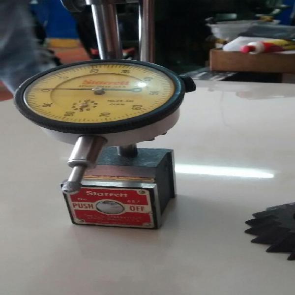 Torno fresadora dial comparador starrett