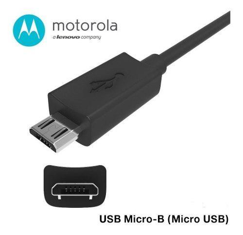 Cable Turbo 3.0 Motorola Micro Usb Original G5 G6 E5 G3 G4