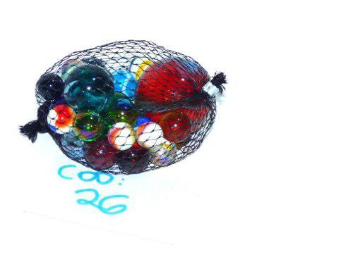 Colección bolitas uñita canicas bolichon diferentes tamañ